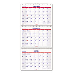 AT-A-GLANCE(R) Move-A-Page Three-Month Wall Calendar