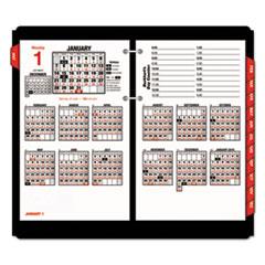 AT-A-GLANCE(R) Burkhart's Day Counter(R) Desk Calendar Refill