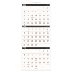 AT-A-GLANCE(R) Contemporary Three-Month Reference Wall Calendar