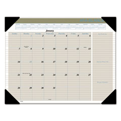 AT-A-GLANCE(R) Executive(R) Monthly Desk Pad Calendar