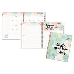AT-A-GLANCE(R) B-Positive Desk Weekly/Monthly Planner