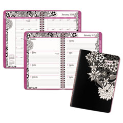 AT-A-GLANCE(R) Floradoodle Weekly/Monthly Planner