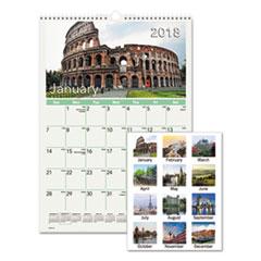 AT-A-GLANCE(R) European Destinations Wall Calendar