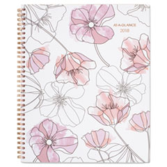 AT-A-GLANCE(R) Blush Weekly Monthly Planner