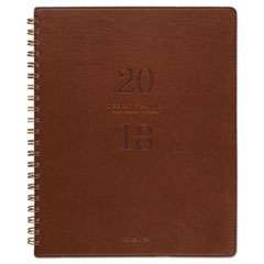 AT-A-GLANCE(R) Signature Collection(TM) Distressed Brown Weekly Monthly Planner
