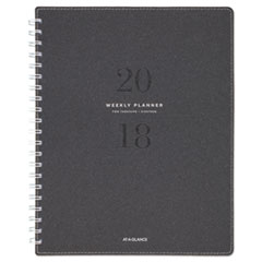 AT-A-GLANCE(R) Signature Collection(TM) Heather Gray Planner
