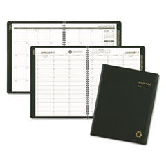 AT-A-GLANCE(R) Recycled Weekly/Monthly Appointment Book
