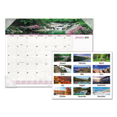 AT-A-GLANCE(R) Landscape Panoramic Desk Pad