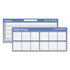 AT-A-GLANCE(R) Large Horizontal Erasable Wall Planner