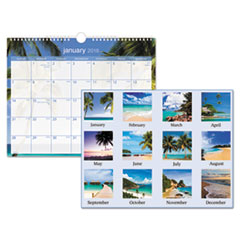 AT-A-GLANCE(R) Tropical Escape Wall Calendar