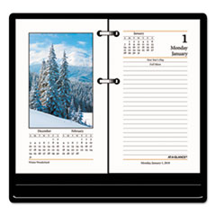 AT-A-GLANCE(R) Photographic Desk Calendar Refill