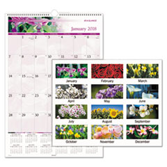AT-A-GLANCE(R) Floral Wall Calendar
