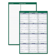 AT-A-GLANCE(R) Vertical Erasable Wall Planner