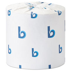 Office Packs Standard Bathroom Tissue, Septic Safe, 2-Ply, White, 504 Sheets/Roll, 80 Rolls/Carton
