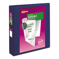 Avery(R) Durable View Binder with DuraHinge(TM) and Slant Rings