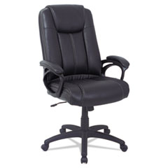 Alera(R) CC Series Executive High Back Leather Chair