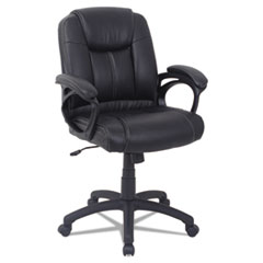 Alera(R) CC Series Executive Mid-Back Leather Chair