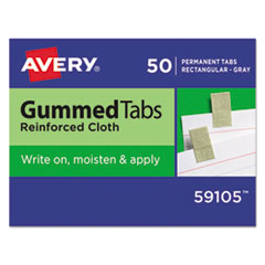 Avery(R) Write-On Gummed Index Tabs