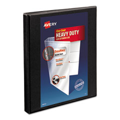 Avery(R) Heavy-Duty Non Stick View Binder with DuraHinge(TM) and Slant Rings