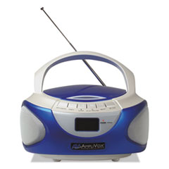 AmpliVox(R) CD Boombox with Bluetooth