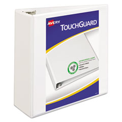 Avery(R) Touchguard(TM) Antimicrobial View Binder with Slant Rings