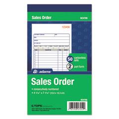 Adams(R) 2-Part Sales Book