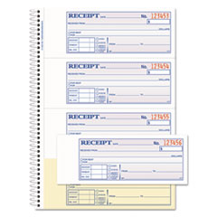 Adams(R) TOPS(TM) Money/Rent Receipt Book