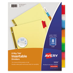 Avery(R) Insertable Big Tab(TM) Dividers