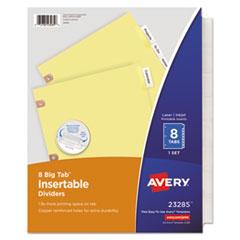 Avery(R) Insertable Big Tab(TM) Dividers