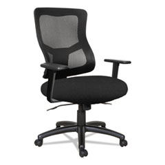 Alera(R) Elusion(R) II Series Mesh Mid-Back Synchro with Seat Slide Chair
