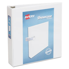 Avery(R) Showcase Economy View Binder with Round Rings