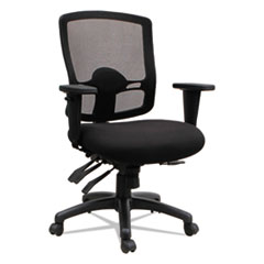 Alera(R) Etros Series Mid-Back Multifunction with Seat Slide Chair