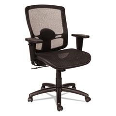 Alera(R) Etros Series Suspension Mesh Mid-Back Synchro Tilt Chair