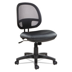 Alera(R) Interval Series Swivel/Tilt Mesh Chair
