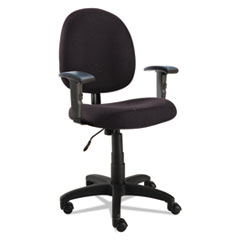 Alera(R) Essentia Series Swivel Task Chair with Adjustable Arms