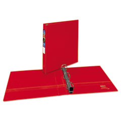 Avery(R) Heavy Duty Non-View Binder with DuraHinge(TM) and Locking One Touch EZD(R) Rings