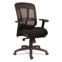 Alera(R) Eon Series Multifunction Mid-Back Cushioned Mesh Chair