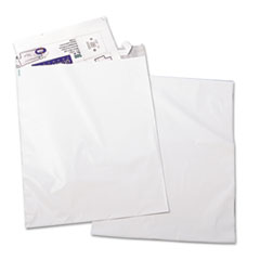 Redi Strip Poly Mailer, 19 x 24, White, 50/Pack