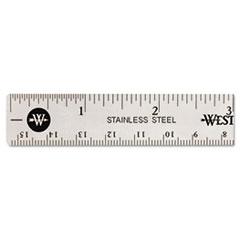 Westcott(R) Stainless Steel Ruler