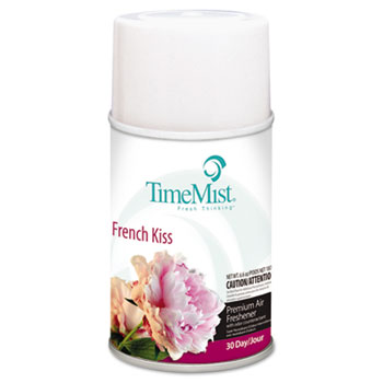 TimeMist® Metered Fragrance Dispenser Refill, French Kiss, 6.6oz, Aerosol