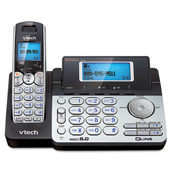 Vtech® Two-Line Expandable Cordless Phone with Answering System