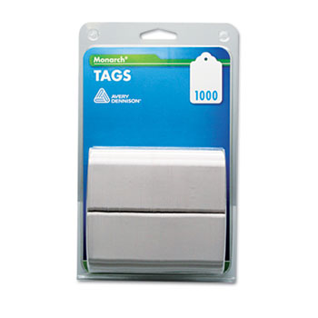 Monarch® Refill Tags, 1 1/4 x 1 1/2, White, 1,000/Pack