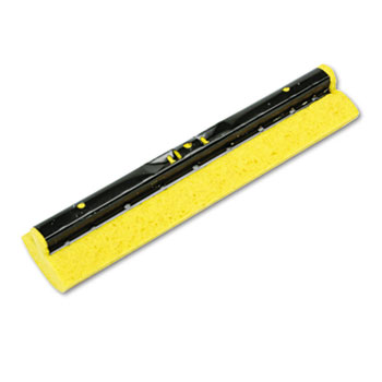 "Mop Head Refill for Steel Roller Mop, Sponge, 12"" Wide, Yellow"