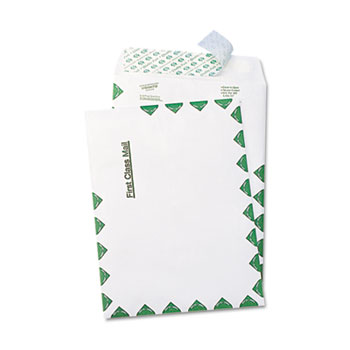 Survivor® Tyvek USPS First Class Mailer, Side Seam, 6 x 9, White, 100/Box