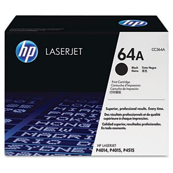 64A (CC364A) Toner Cartridge, Black