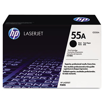 55A (CE255A) Toner Cartridge, Black