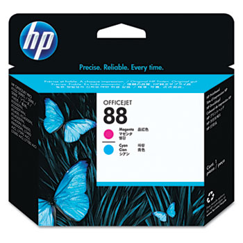 HP 88 Printhead, Cyan, Magenta (C9382A)