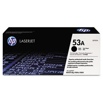53A (Q7553A) Toner Cartridge, Black