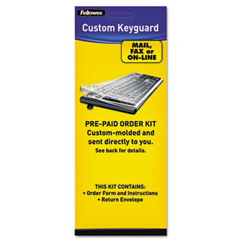 Fellowes® Keyboard Protection Kit, Custom Order, Polyurethane