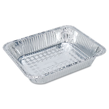 Boardwalk® Full Size Aluminum Steam Table Pan, Deep, 50/Carton